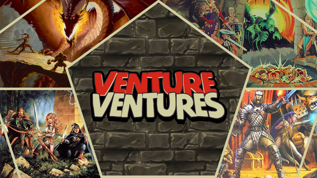 Venture Ventures Twitch Stream and Podcast